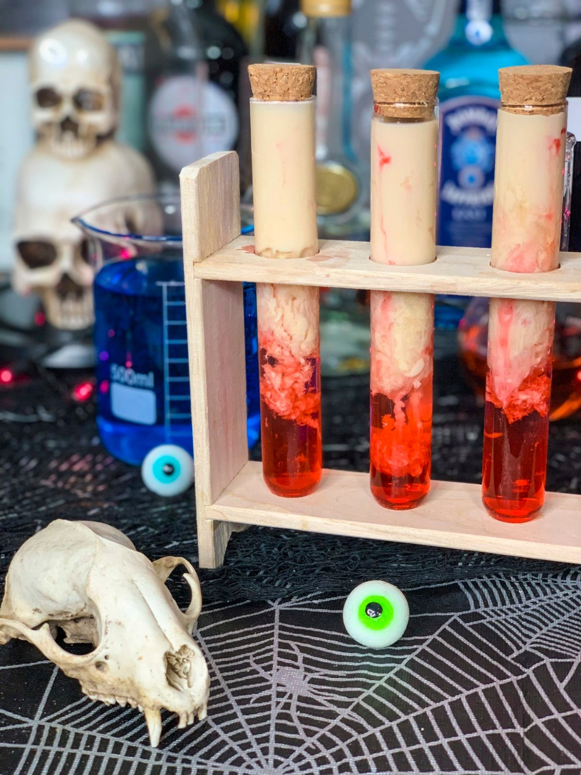 Halloween brain Hemorrhage Shot
