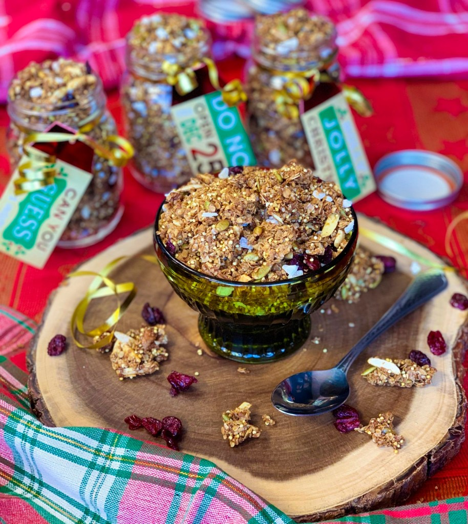 Make Gingerbread Granola for Gifting