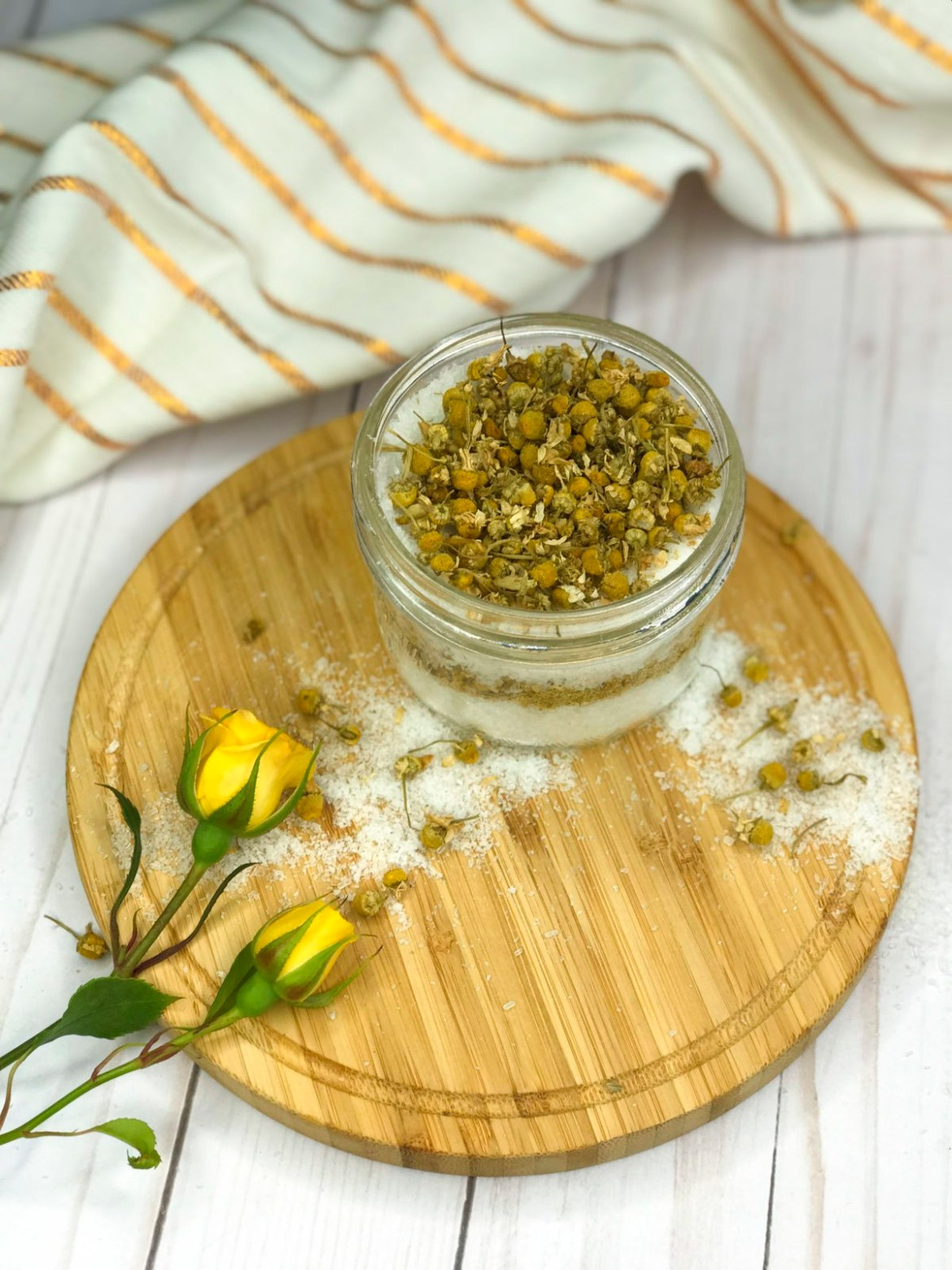 Self-Care with DIY Bath Salts