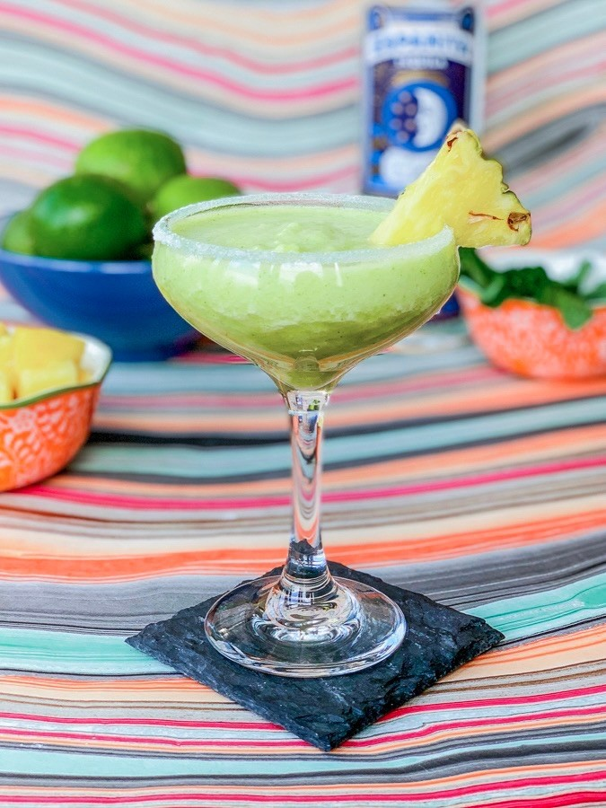 Pineapple Mint Margarita