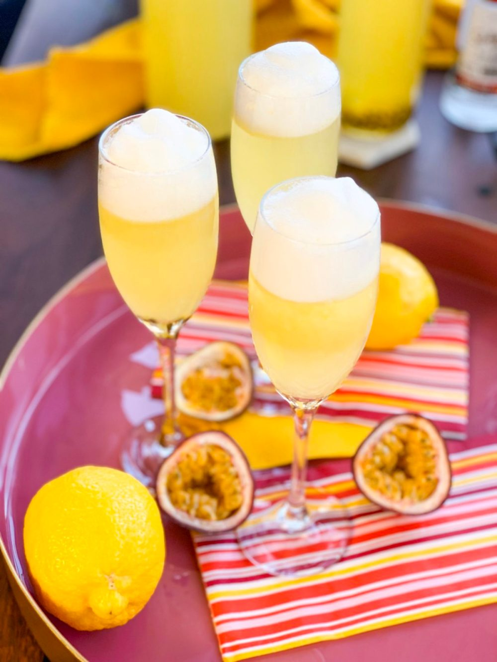 Pineapple Passionfruit Sour