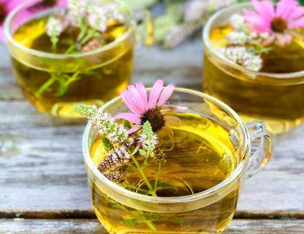Herb and Wildflower Tea
