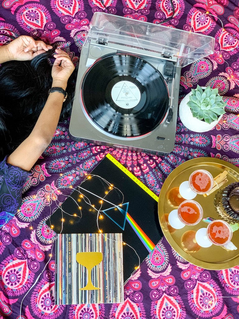 Host a Boozy Listening Party