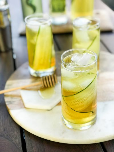 Green Tea Cucumber Collins