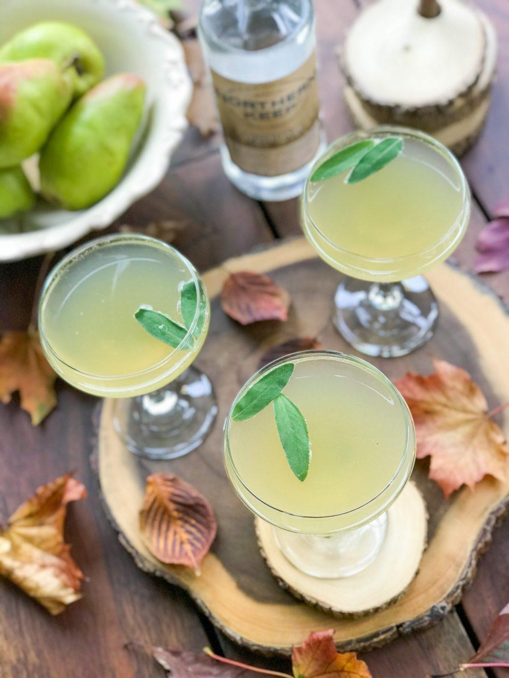 Pear Sage Fizz