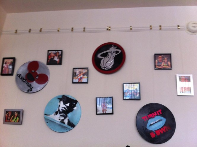 Room Decor With Vinyl Records Home Decore Inspiration