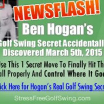 The Stress Free Golf Swing