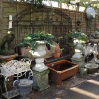 Garden Ornament Display