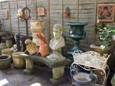 Various Garden Ornaments
