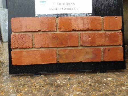 Reproduction Bricks Banded Wirecut