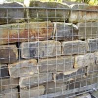 Coursed Dressed Sandstone Walling