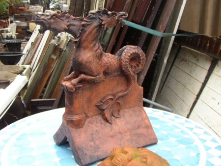 Double Headed Serpent Horse Finial