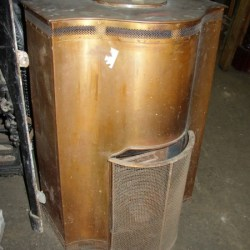Copper Coal Burner