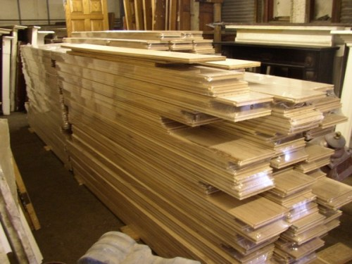 Oak Boarding Stack