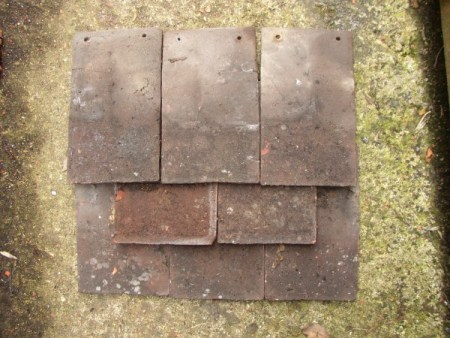 Winkenhurst Manor Dark Peg Tiles