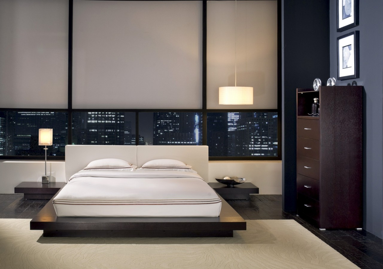 Features Of The Bedroom Interior In The Modern Style