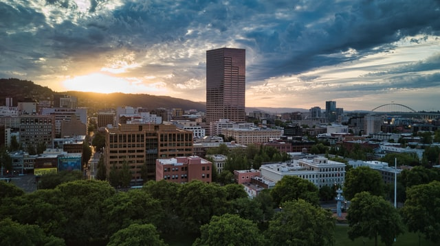 Best area in Portland for tourists - Downtown