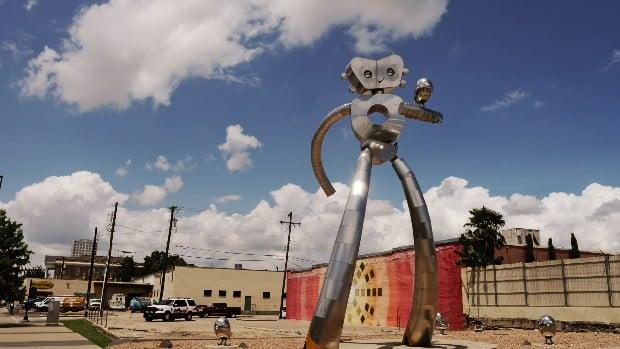 Barrio alternativo de Dallas - Deep Ellum