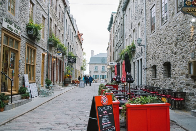 Best location in Quebec City for sightseeing - Vieux Québec