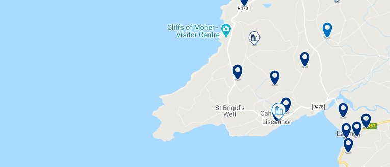 Best village to stay near the Cliffs of Moher - Liscannor