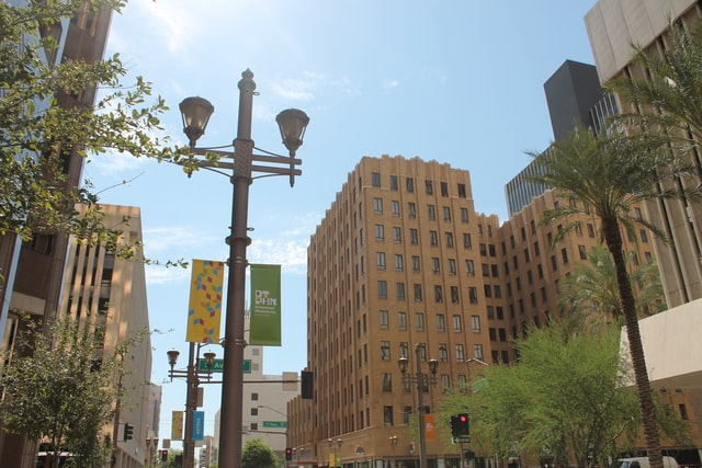Most convenient area in Phoenix for tourists and sightseeing - Downtown Phoenix, AZ