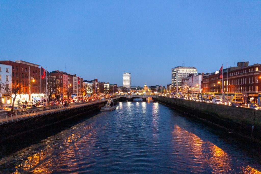 Dublin City Centre is the best area to stay in the Irish capital