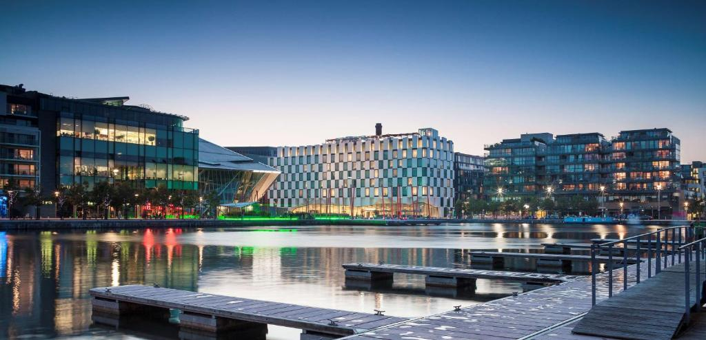 Modern area to stay in Dublin - The Docklands & Dublin Port