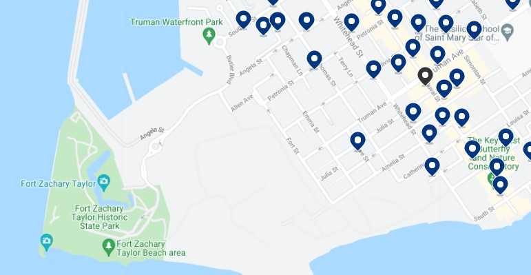 Alojamiento en Bahama Village - Haz clic para ver todo el alojamiento disponible en esta zona