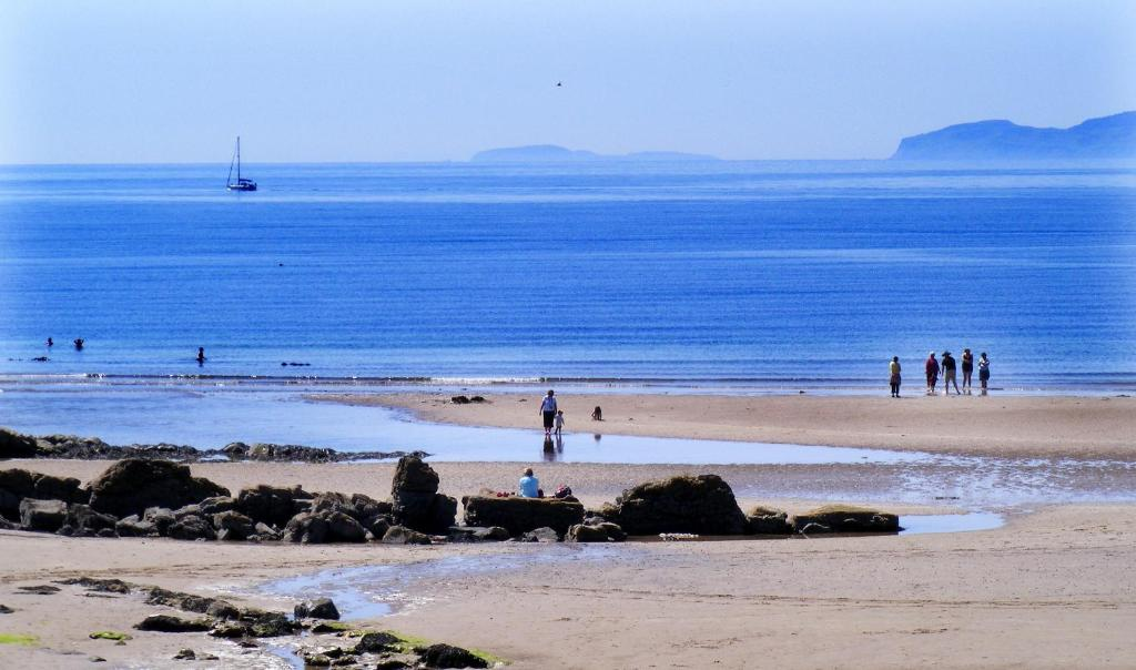 Blackwaterfoot is one of the best towns to stay in Arran