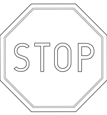 canada stop sign coloring page free printable coloring pages