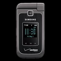 Photo of the Samsung Alias 2 dual flip phone