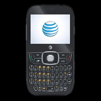 Photo of the ZTE Z432 low-cost prepaid phone with full QWERTY keyboard