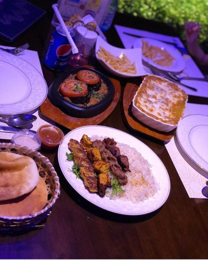 مطاعم فيها بارتشن في مكة راقية