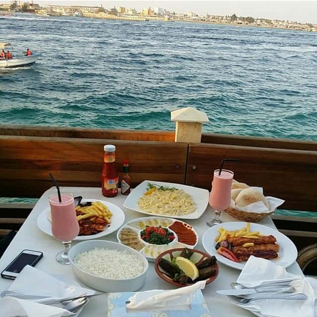 اشهر مطاعم جده على البحر