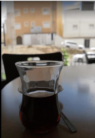 مقهى الإستكانة التركية