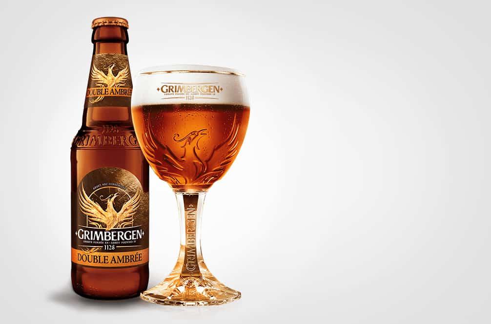 Grimbergen dubbel bier review