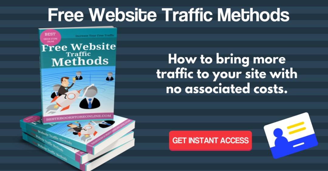Free Website Traffic Methods Ebook