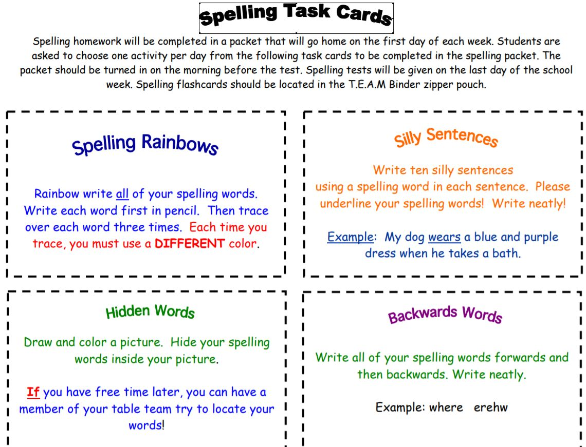 32 Spelling Lists And Worksheets Best Ed Lessons