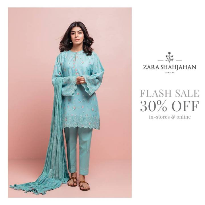 Latest Zara Shahjahan Lawn Eid Collection 2019