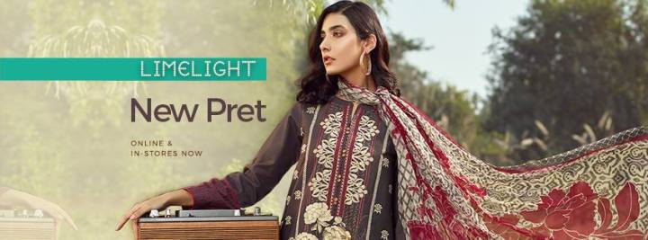 Latest Limelight Lawn Eid Collection 2019