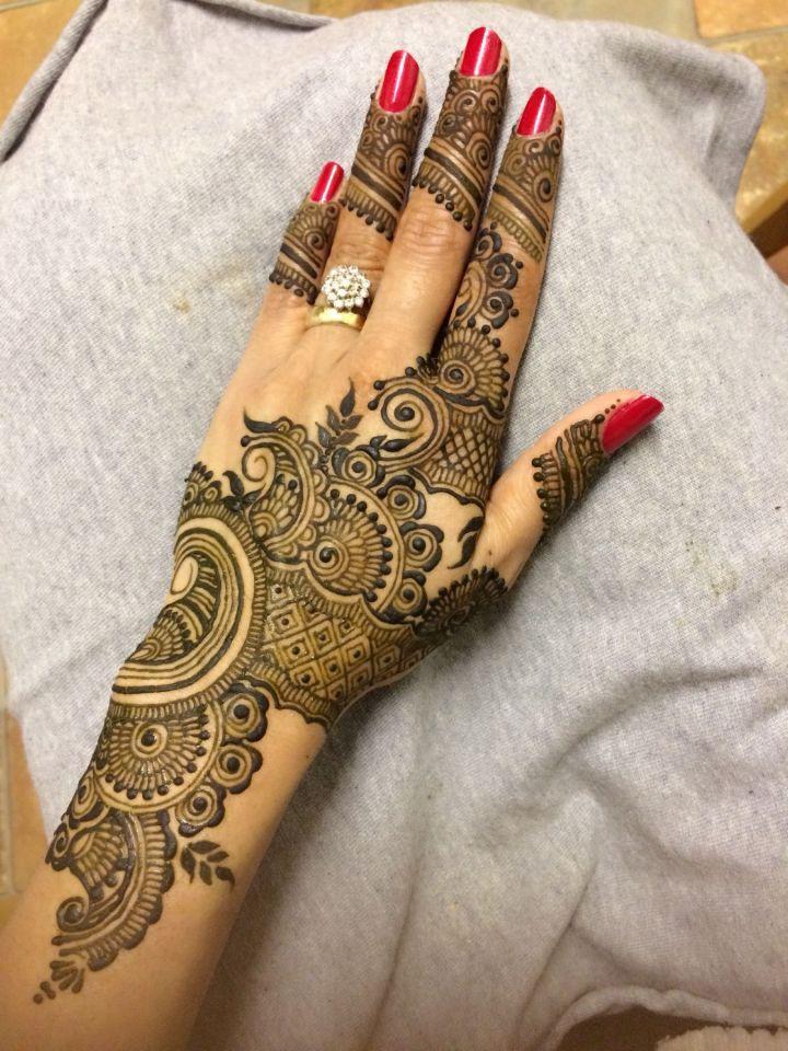 Simple Eid Mehndi Designs