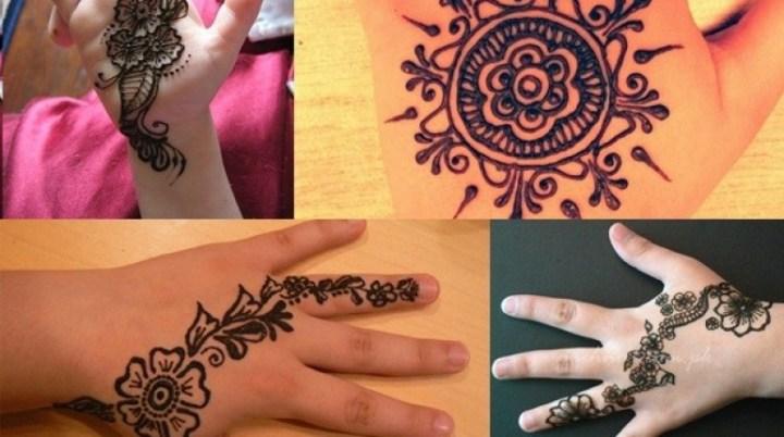 Eid Mehndi Designs For Kids 2020