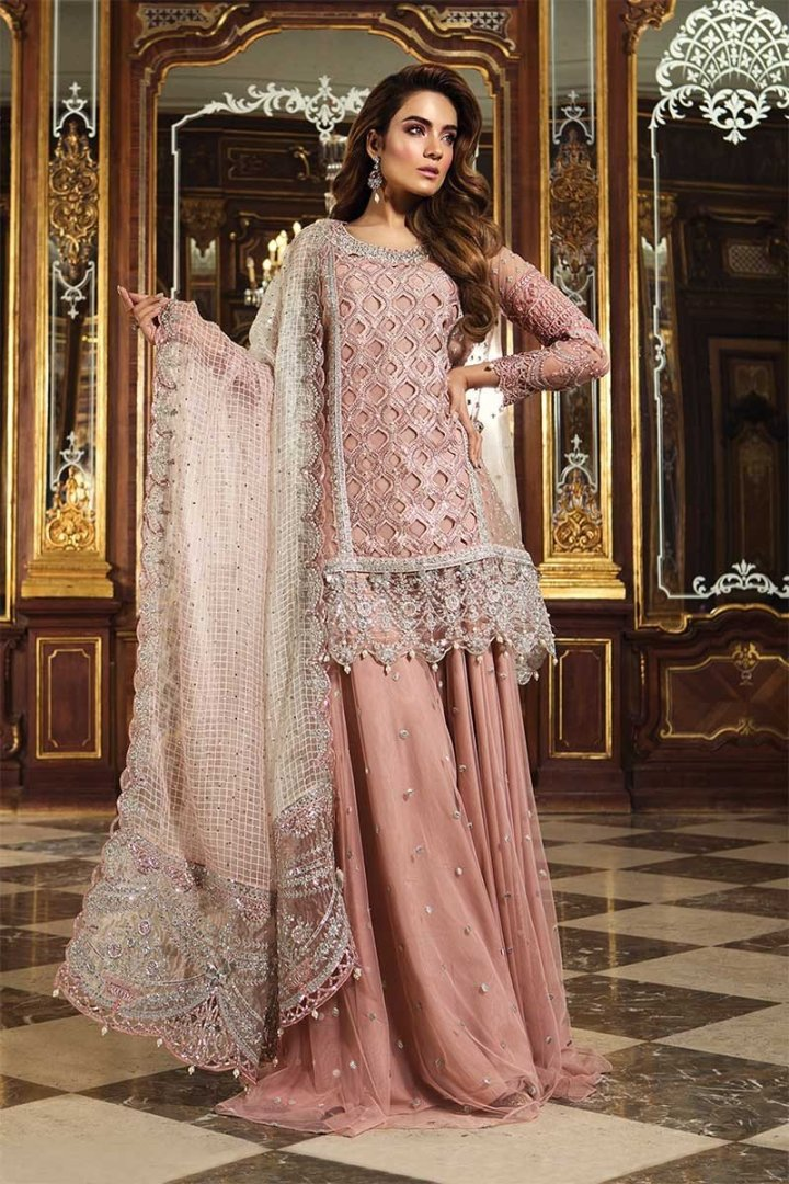 Maria B Embroidered Eid Collection 2019