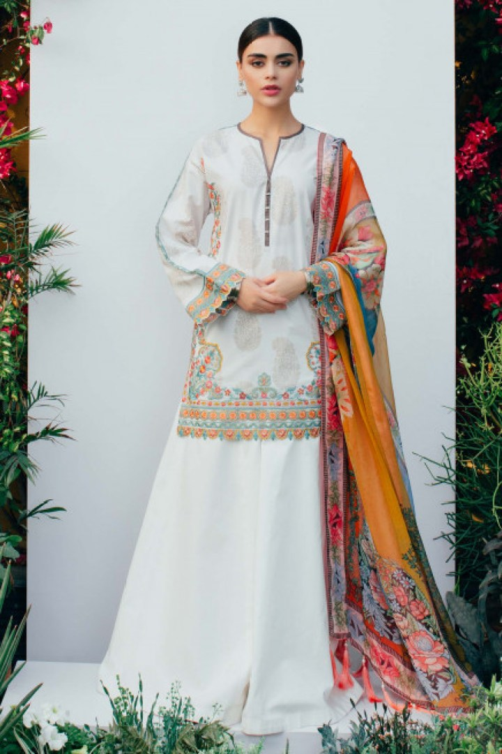 Latest Zara Shahjahan Lawn Collection 2019