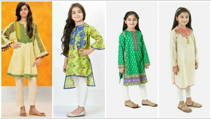 Eid Dresses For Baby Girl 2020