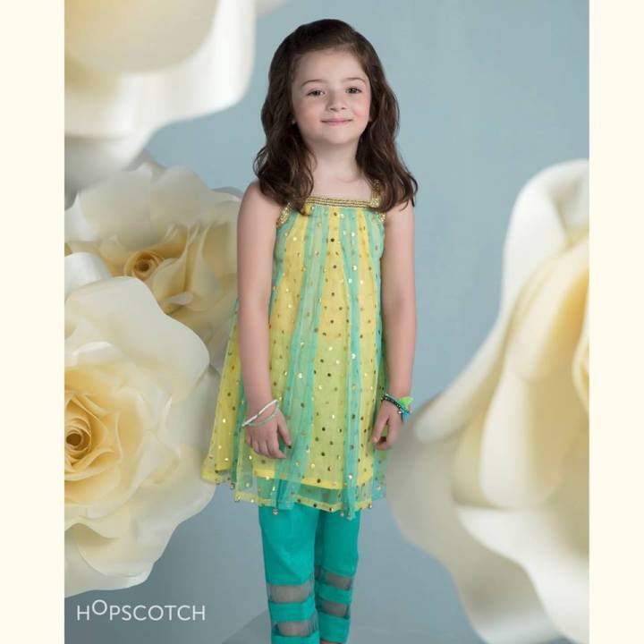 Hopscotch Little Girl Eid Collection 2019