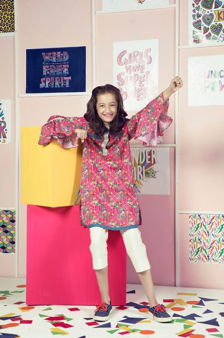Latest Chenone Kid's Eid Collection 2019