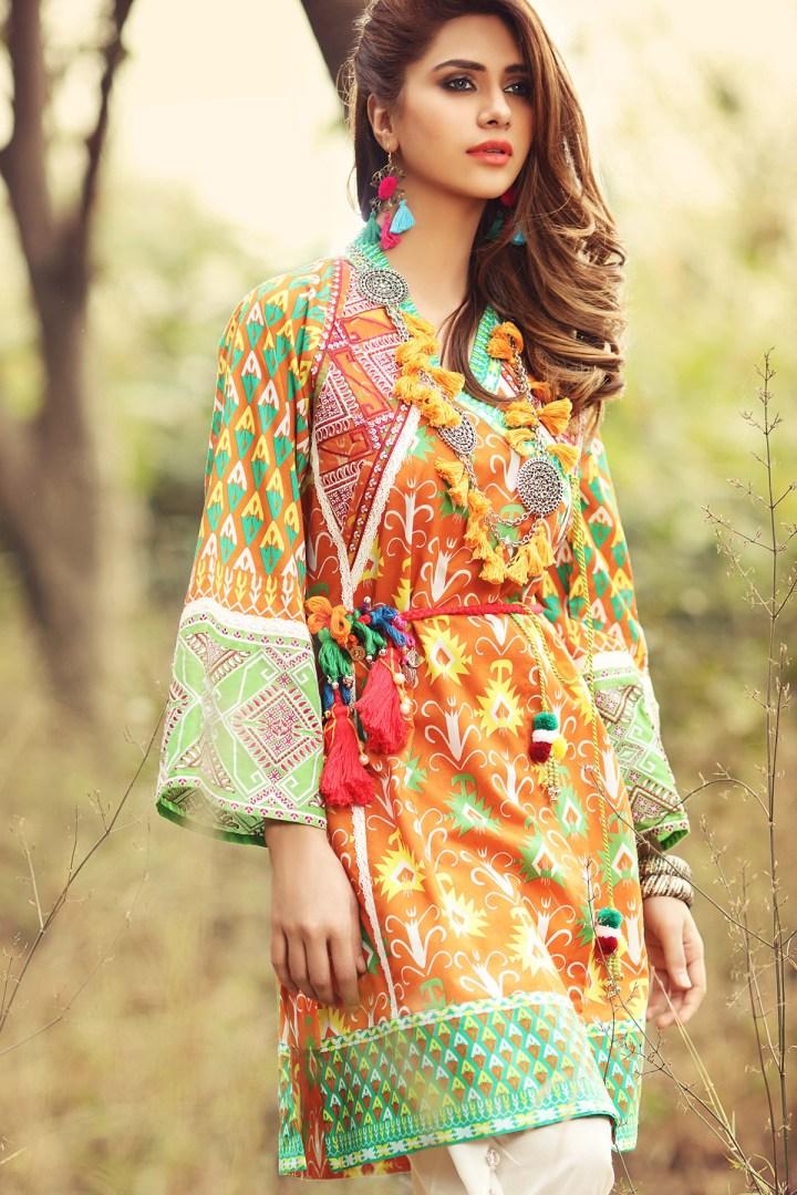 Pakistani Eid Lawn Dresses 2020