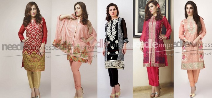 Latest Needle Impressions Lawn Eid Collection 2019