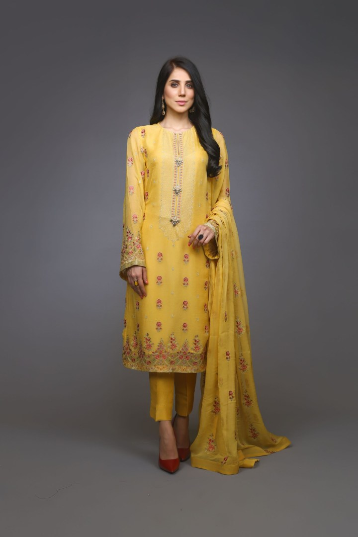 Bareeze Chiffon Festive Collection 2019